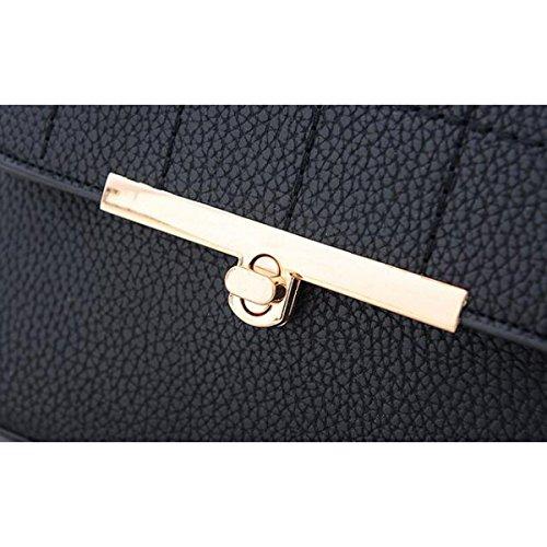 Casual Frühling Und Sommer Neue Weibliche Handtasche Schultertasche Messenger Bag,DarkBlue Green