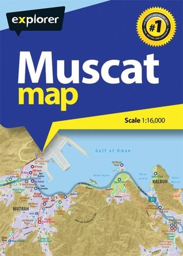 Muscat City Map por Explorer