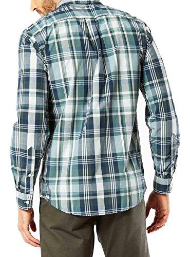 Dockers Herren Freizeit-Hemd Grün
