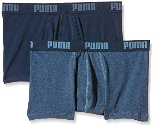 Puma Herren Boxer Basic 2p Boxershort Blue Heaven