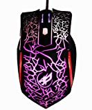 High Precision DPI Symmetrical Optical USB Wired Mouse with 6 Buttons Gaming Mouse ,Ergonomic Mice for Pro Gamer