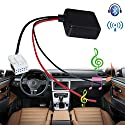 MASO Kfz-Bluetooth-Modul, E60 Radio Stereo AUX Kabel Adapter Mini Car Kit Receiver Adapter Audio Filter Teile Radio mit Filter Wireless Audio Eingang