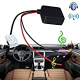 MASO Kfz-Bluetooth-Modul, E60 Radio Stereo AUX Kabel Adapter Mini Car Kit Receiver Adapter Audio Filter Teile Radio mit Filter Wireless Audio Eingang