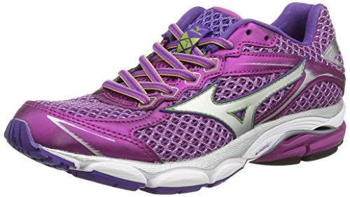 Mizuno - Wave Ultima 7 (W), Sneakers donna, color Viola (wild Aster/silver), talla 40 EU