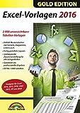 Excel 2016 Vorlagen - für alle Excel Versionen 2003 2007 2010 2013 2016 geeignet