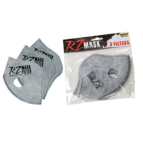 3 Medium Luft (RZ Mask-Filter mit Aktivkohle (3 Stücke) (Medium/Small))