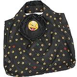Emoticon Shopper-Bag - Faltshopper - wiederverwendbare Einkaufstasche lustig bedruckt - tongue
