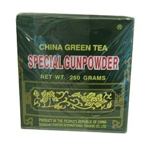 """Thé Vert de Chine """"Spécial Gunpowder"""" en boite de 250 g"""