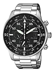 Idea Regalo - Orologio Citizen Crono Aviator CA0690-88E