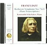 Complete Piano Music, Vol. 23 - Transcriptions Symphonien Nr. 7 & 8