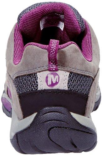 Merrell Azura, Chaussures de randonnée tige basse femme Gris - Grau (CASTLE ROCK/PURPLE)