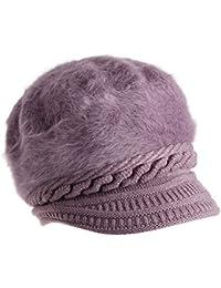 Delhitraderss Soft and Warm Winter Woolen Cap for Women Girls Ladies(Random Colour)