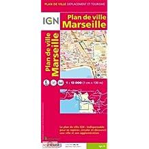 Marseille Aubagne 1 : 13 000: Marseille, Aubagne et son agglomération (Ign Map)