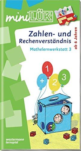 Preisvergleich Produktbild miniLÜK: Zahlen- und Rechenverständnis: Mathelernwerkstatt 3
