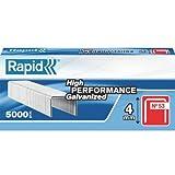 Rapid 23808700 No. 53 Graffe a Filo fine 4 mm, Acciaio
