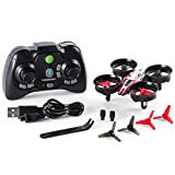 Air Hogs 6037691 - DR1 Micro Race Drone, Highspeed-Drohne, coole Stunts