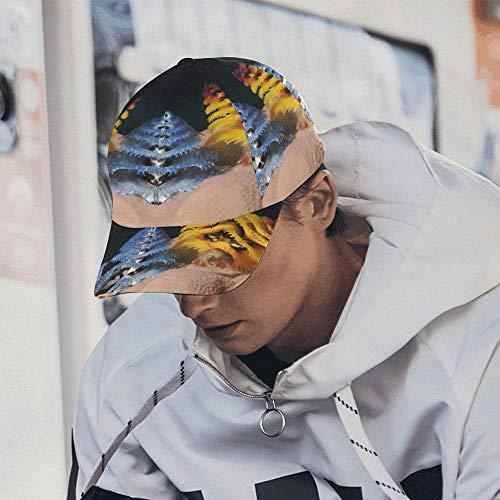 Hüte Für Baseball Wilder Weihnachtsbaumwurm Cayman Island Reef Junge Baseballmütze 100% Baumwolle Weich Passt Unisex Hip-Hop Sport Sommer Strand Aktivitäten Frauen S Baseballmütze