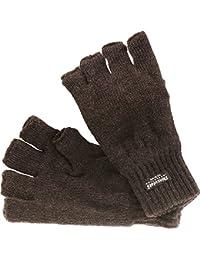 Halbfinger Handschuh mit Thinsulate Futter in 2 Farben