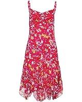 Street One Chiffon-Kleid Theodora (36, print indian pink)