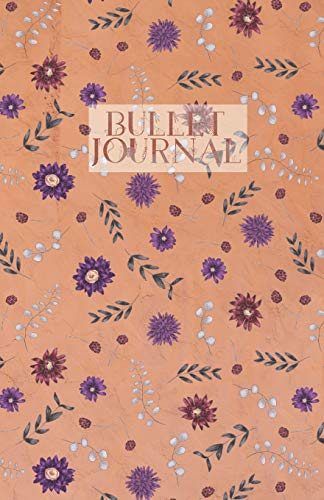 Bullet Journal: Leaves Flowers of Halloween pattern bullet journal