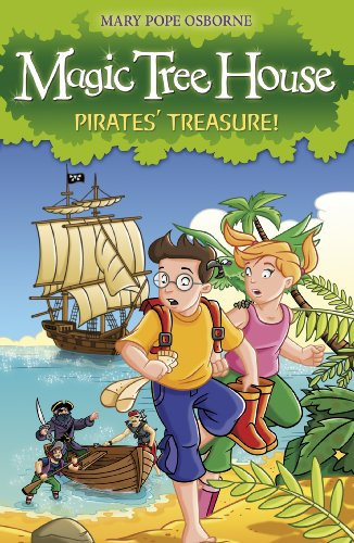 Magic Tree House 4: Pirates' Treasure! (English Edition)