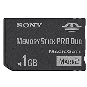 1Gb Memory Stick Pro Duo Mark 2