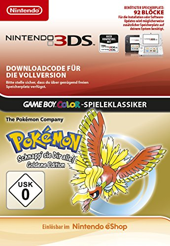 Pokémon Gold [3DS Download Code]