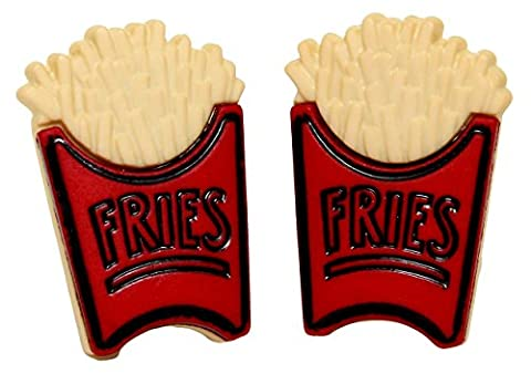 Bluebubble AMERICAN DINER Large Fries Stud Earrings With FREE Gift Box
