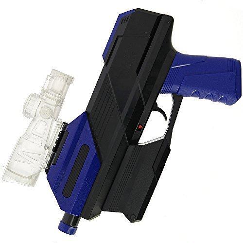 DNA Leisure - Pistola de juguete de polímero de agua suave para niños y adultos, totalmente automática, 20 m de alcance y nueva batería recargable USB