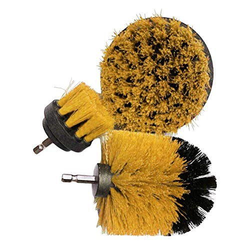 73JohnPol Power Scrubber Brush Set Taladro baño Scrubber