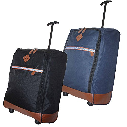 various-50x40x20-lightweight-hand-luggage-trolley-wheeled-cabin-bag-ryan-air-easy-jet