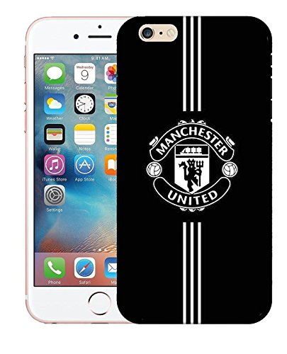 LIRAMARK Sublimation Manchester United Printed Designer Slim Hard Back Case Cover for Apple iPhone 6 / 6S