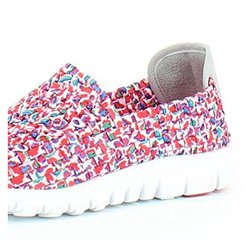 Heavenly Feet Heavenly Feet Stomp Shoes Pink Multi, Sneaker donna Pink Multi