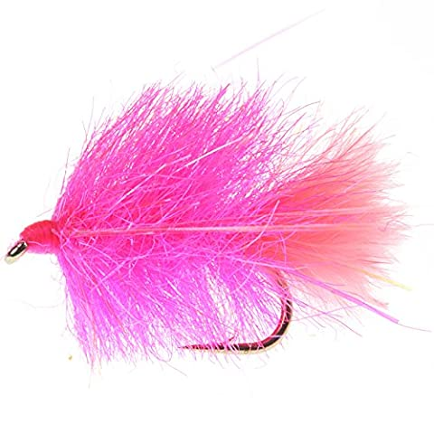 perryi mouche Blob UV Prism Pêche Rose avec queue #8