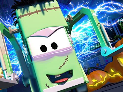 Kid Frankenstein Kostüm - Frankenstein/Spiderman