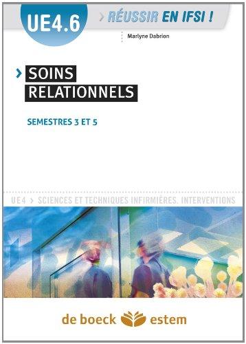 UE 4.2 - Soins relationnels - Semestres 2 et 3