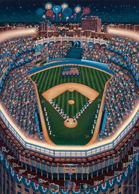 Jigsaw Puzzle - New York Yankees 500 Pc By Dowdle Folk Art by Dowdle Folk Art (New York Yankees Puzzle)