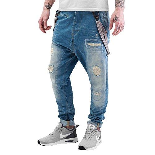 VSCT Clubwear Herren Jeans / Antifit Brad Blau