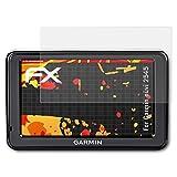 atFoliX Folie für Garmin Nüvi 2545 Displayschutzfolie - 3 x FX-Antireflex-HD hochauflösende entspiegelnde Schutzfolie