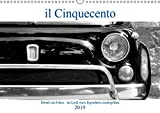 il Cinquecento - Details im Fokus - im Look eines legendären Analogfilms (Wandkalender 2019 DIN A3 quer): Details vom F