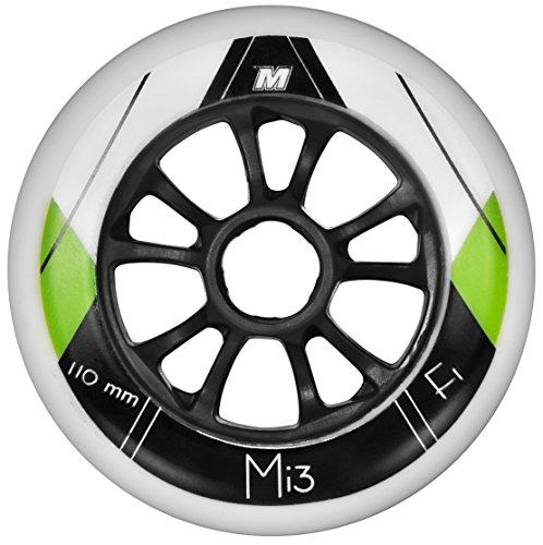 Matter Rollen Mi3 F1 8-Pack, Weiß, 110mm