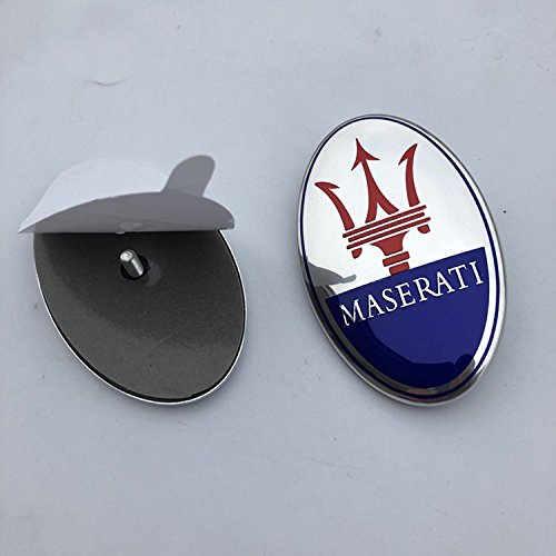 MASERATI quatrroporte, GranTurismo Front Bumper Emblem 1PCS PN 670101565,68332000 (Front Emblem Bumper)