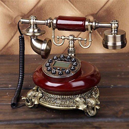 Ju creativo continental vintage retro antique pulsante telefono a filo della rete fissa per il ministero degli interni