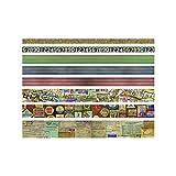 Unbekannt Design-Tape von Tim Holtz idea-ology, Papier, mehrfarbig, 4.1 x 4.1 x 13.3 cm