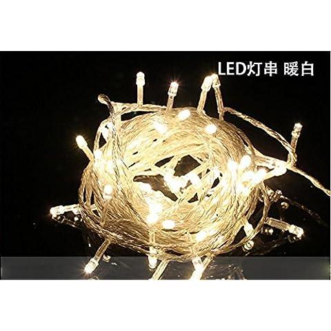 Fuf.Mcl Super Estrella Con Luz Estroboscópica Linterna Exterior Impermeable Centro Comercial Al Aire Libre De Ingeniería Nuevo Año Decorando Para Navidad Luces Festivas,,Blanco