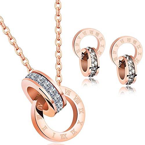 191d2491b55d Se oras Colgante Collar Fabricados con Cristales Swarovski Juegos De ...