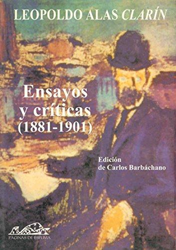 Ensayos y críticas (1891-1901) (Voces /Clásicas)