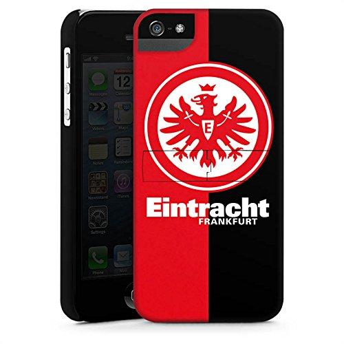 Apple iPhone 6 Tasche Hülle Flip Case Eintracht Frankfurt Fanartikel SGE Bundesliga Premium Case StandUp