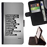 XP-Tech / Flip Klapp Leder Handy Schutz Hülle Case mit