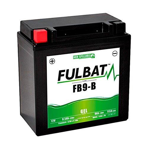 Fulbat - Batería Moto Gel YB9-B / 12N9-4B-1 12V 9Ah